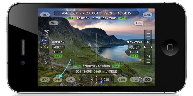 Theodolite - Elevation measurement app