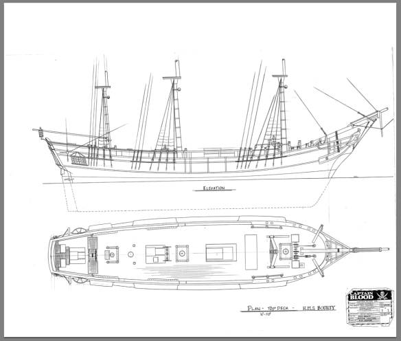 Drawing done from survey measurements in 1994. R.D. Wilkins