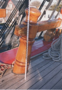 Survey photo of the fore bits. photo - R.D. Wilkins