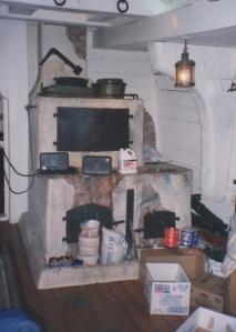 The Bounty's brick oven. photo - R.D. Wilkins