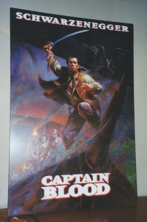 Proposed artwork for a promotional poster for the film.