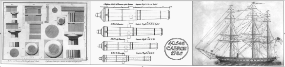 column cannon ship