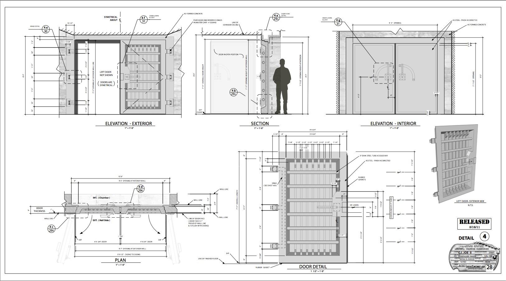 prison doors  sc 1 st  The Designeru0027s Assistant & prison doors |