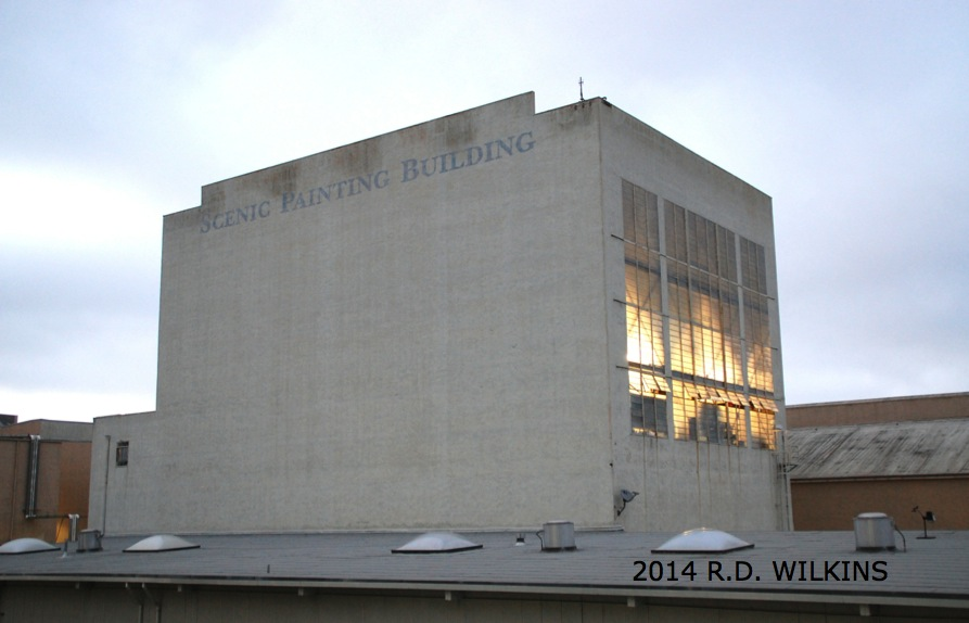 The Scenic Painting Building on the Sony Lot (formerly MGM)
