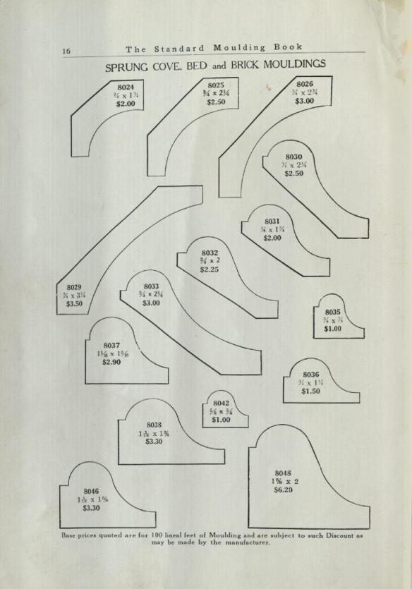 1938 moulding