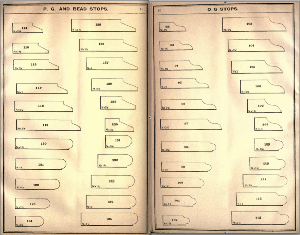 stops from the 1890 Universal catalogue