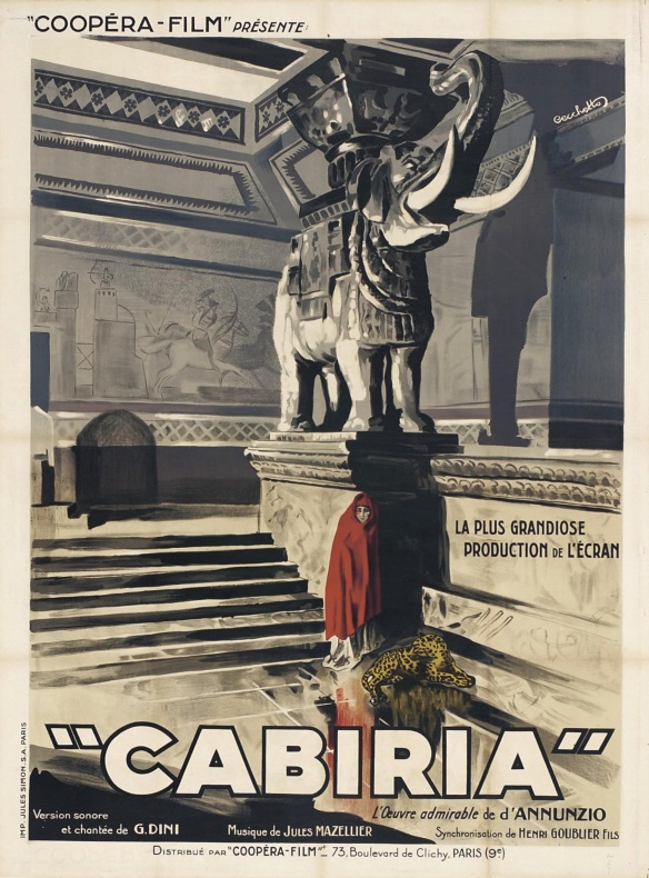 French poster for the film