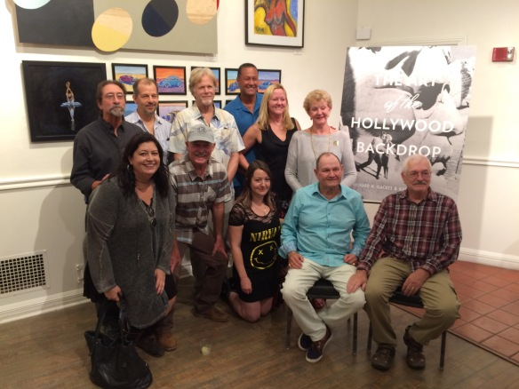 The Coakley family and fellow artists of J.C.Backings
